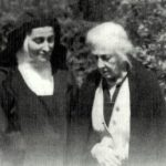 Teresa Wójcicka z matką.