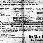 afisz o egzekucji